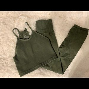 Free People Other - FP workout set